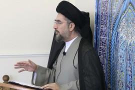 صلاة الجمعة في مركز الهدى في سري 26/1/2018