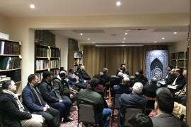 إعلان درس الحوزة الفقهية 13/2/2018