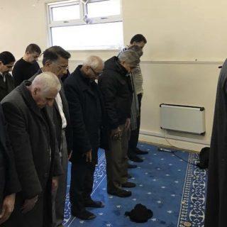 صلاة الجمعة في مركز الهدى في سري 23/2/2018