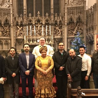 Islamic Congregation with Fr Rendell and Christmas Eve Mass