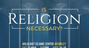 Interactive Discussion on the necessity of Religion.