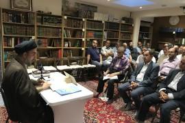 صور الدرس الفقهي لسماحة السيد الجلالي 2/8/18